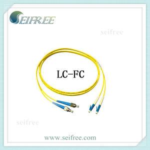 FC-LC Single Mode 9/125 2.0mm Duplex Fiber Patch Cord Cable pictures & photos