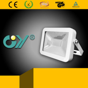 New White Super Slim Floodlight with IP65 and Ce RoHS pictures & photos