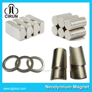 Custom Arc Disc Block Ring Rare Earth Strong Neodymium Magnets pictures & photos