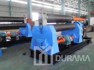 Three Roller Symmetrical Rolling Machine / Bending Machine / Plate Bending Machine Mechanical Type pictures & photos
