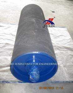 Belt Conveyor Take up Pulley with Rubber Lagging pictures & photos