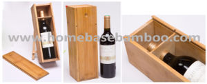 Bamboo Wood Wine Box Red Wine Storage Tray pictures & photos