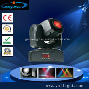 Popular 1X10W Powerful Mini LED Spot Moving Head Light pictures & photos