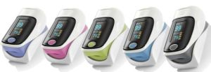 Portable Mini Finger Blood Pressure Monitor Pulse Oximeter pictures & photos