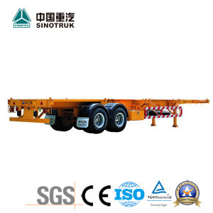 Low Price Semi Trailer of Boogie Suspension 40′ft Container pictures & photos