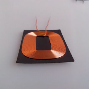 Qi Wireless Charger Receiving Coil with Flexible Shielding pictures & photos