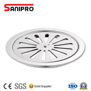 Ss304/201 Square Pop up Stainless Steel Floor Strainer in Drains Push Button pictures & photos