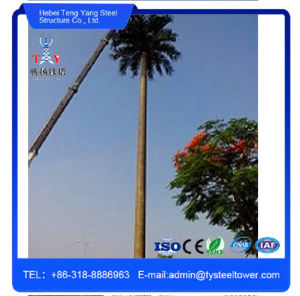 Camouflaged Decorating Palm Tree Galvanized Communication Tower pictures & photos