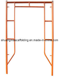 Steel H Frame Scaffolding for Sale Constrution Used pictures & photos