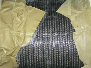 Elevator Steel Wire Rope /Ungalv. Steel Wire Rope 8*19s+FC pictures & photos