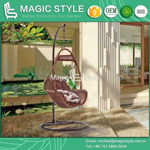 Leisure Garden Swing with Synthetic Wicker Patio Rattan Hammock (Magic Style) pictures & photos