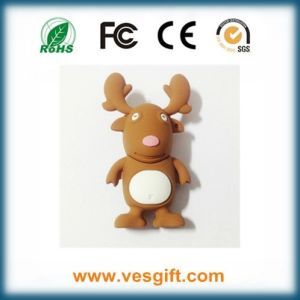 1GB Winter Reindeer Promotional USB Drives pictures & photos