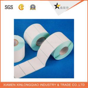 White Vinyl Paper Printer Printed Service Label Printing Adhesive Sticker pictures & photos