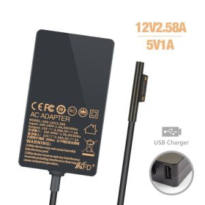 12V 2.58A Slim Laptop AC Adapter for Microsoft PRO3 pictures & photos