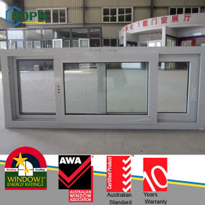 High Quality Impact PVC/ UPVC Double Glazing Sliding Window pictures & photos