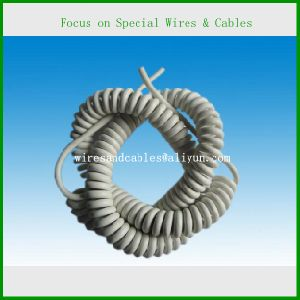 Electric Wire Cable, Spiral Cable for Battery and Sensor pictures & photos