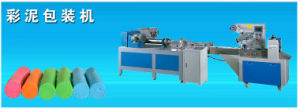 Automatic Polymer Clay Play Dough Extruder Plasticene Packing Machine