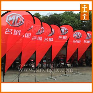 Free Design Promotion Teardrop Flag and Banners (TJ-50) pictures & photos
