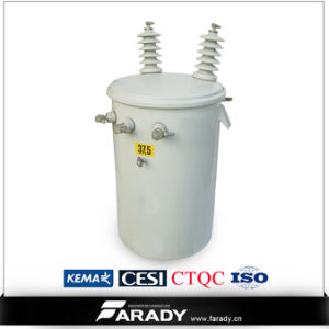 Single Phase 25kVA Sealed Distribution Power Transformer pictures & photos