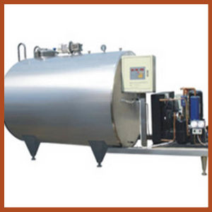 Sanitary Milk Cooling Vertical Storage Tank pictures & photos
