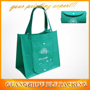 Wallet Reusable Folding Non Woven Promotional Shopping Bag (BLF-NW117) pictures & photos