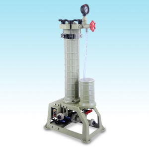 High Quality High Efficiency Plating Filter Equipment for Metal Plating Industry with Flange UPVC in/Outlet Hgf-2001