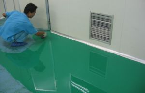 Maydos 2k Solvent Free Dust Proof ESD Paint Self Leveling Anti Static Epoxy Floor Paint pictures & photos