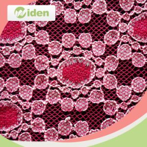 Cheap Fancy African Red Guipure Lace Fabric pictures & photos