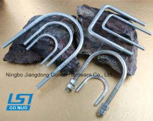 Good Quality DIN 3570 Galvanized U Bolt for Sale