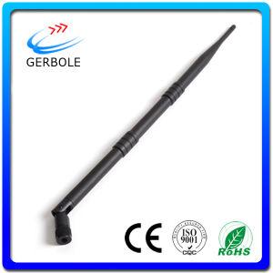 High Gain Protable 9dBi WiFi Antenna 2.4GHz Indoor Whip Antenna
