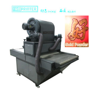 TM-AG900 Cards Automatic Glitter Powder Coating Machine Powder Spraying Machine pictures & photos