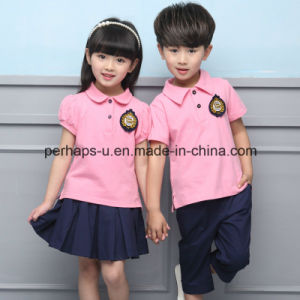 Wholesale High Quality Children Suits Students Uniform pictures & photos