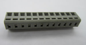 Screwless Terminal Blocks 5.08mm Pitch Straight, Grey Color pictures & photos