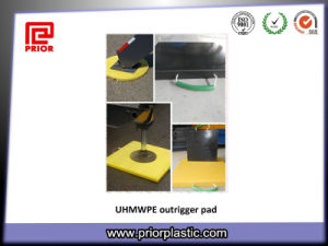 UHMWPE Sheet for Outrigger Pads in 400X400mm pictures & photos