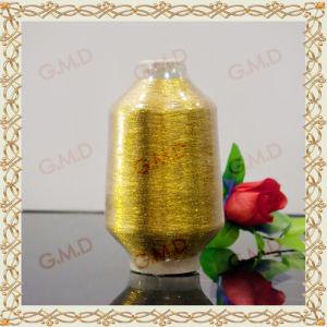 Mx Type Golden Metallic Yarn for Knitting