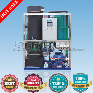 5 Tons/Day Crystal Ice Tube Ice Maker with PLC Program Control pictures & photos