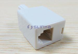 UK Telephone Phone Bt Plug to Rj11 Socket Adapter Converter pictures & photos