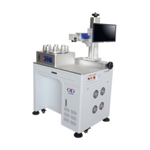LED Laser Marking Machine with Rotary pictures & photos