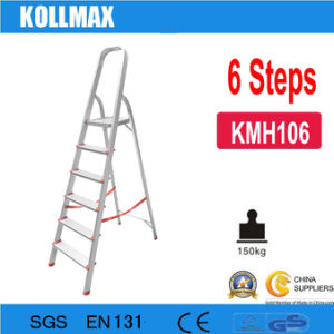 6 Steps Aluminum Household Ladder pictures & photos