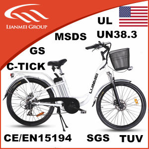 26inch City Electric Bikes En15194 pictures & photos
