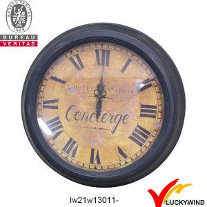 Round Wall Decor Vintage Retro Metal Clock pictures & photos
