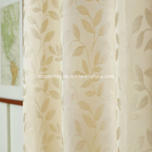 Typical 2016 Polyester Jacquard Window Curtain pictures & photos