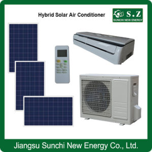 Solar 80% Acdc Power Hybrid No Noise Air-Conditioner pictures & photos