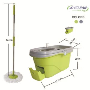 2015 New Spin Mop with Wheels pictures & photos