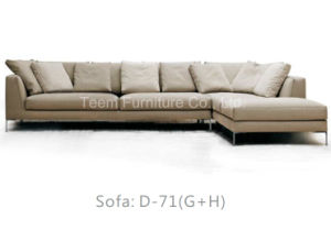 Leather Sofa Set 3 2 1 Seatmodern Sofa pictures & photos