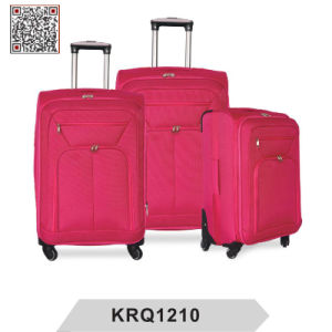 Wholesale Cheap 1200d Polyester Soft Trolley Luggage Bags pictures & photos