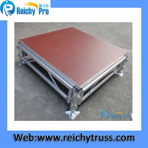 High Quality Aluminum Portable Stage with Adjustable Height pictures & photos