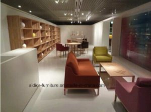 (SD-6004) Modern Hotel Office Furniture Wooden Leisure Fabric Sofa pictures & photos