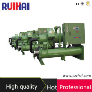 40HP Low Temperature Glycol Water Cooled Water Chiller for Pasture and Butchery pictures & photos