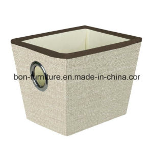 Polypropylene Folding Storage Box with Metal Handle pictures & photos